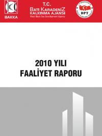 BAKKA 2010 Yılı Faaliyet Raporu