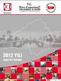 BAKKA 2012 Yılı Faaliyet Raporu