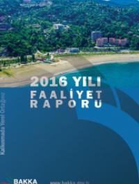 BAKKA 2016 Yılı Faaliyet Raporu